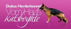 Duitse Herder Kennel – Vom Haus Katsboghte Logo